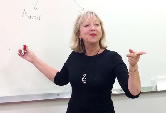 étudier le français langue étrangère avec un professeur privé