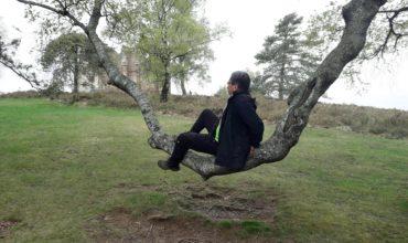 Pause acrobatique